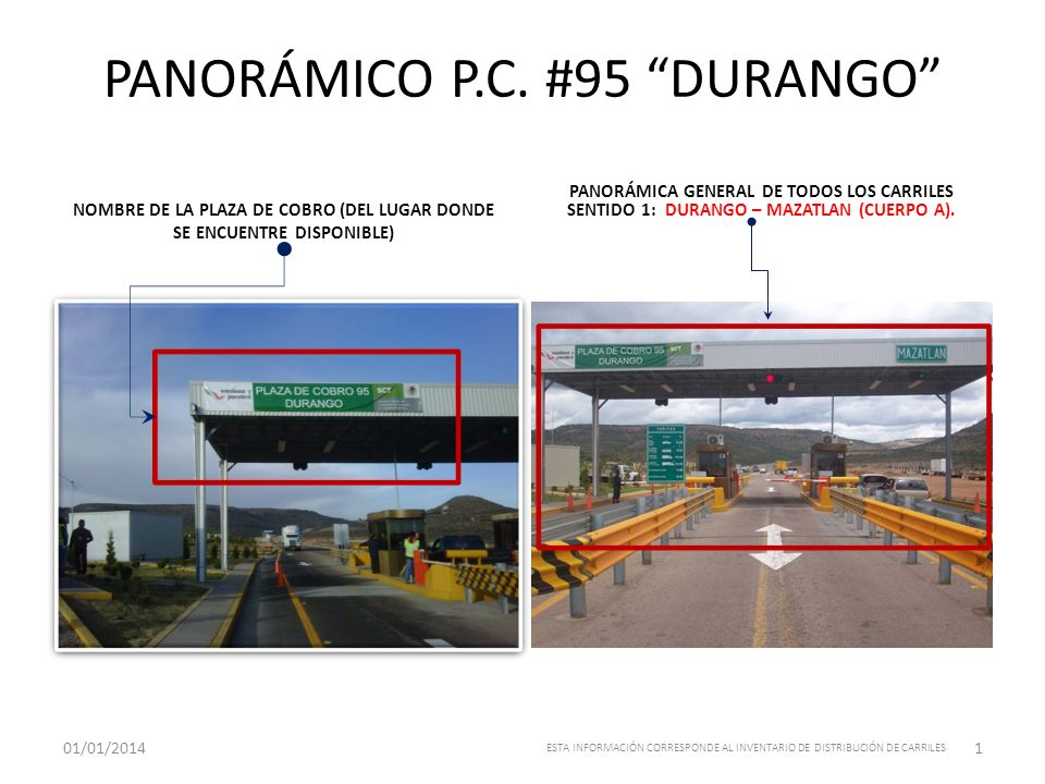 PANORÁMICO P.C. #95 DURANGO