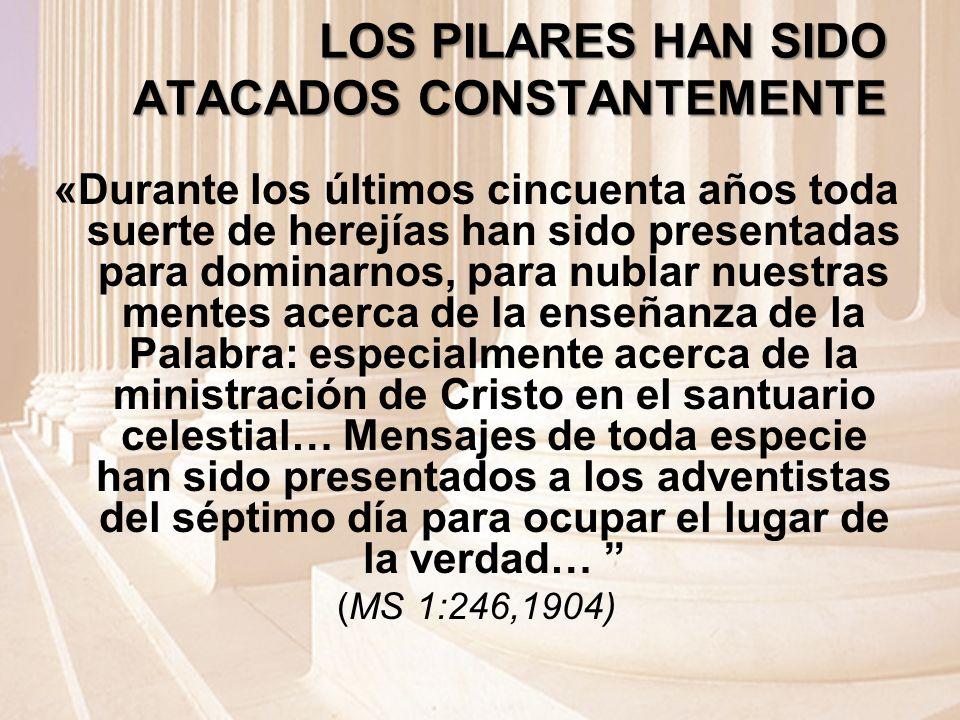 LOS PILARES HAN SIDO ATACADOS CONSTANTEMENTE