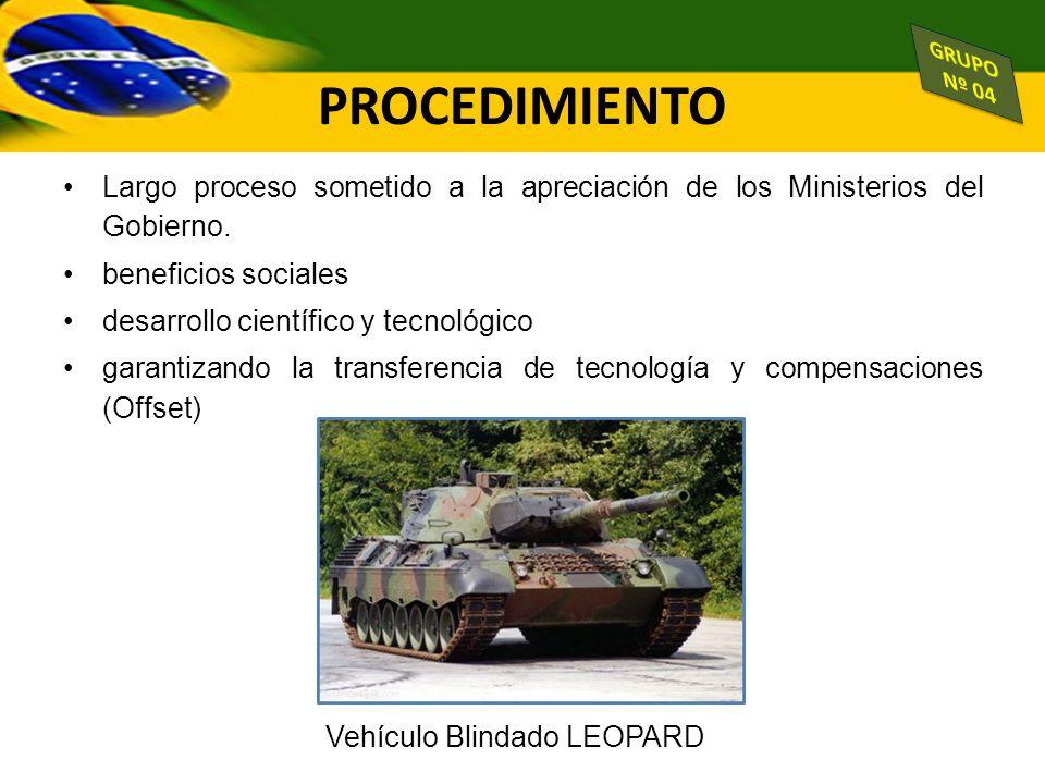 Vehículo Blindado LEOPARD