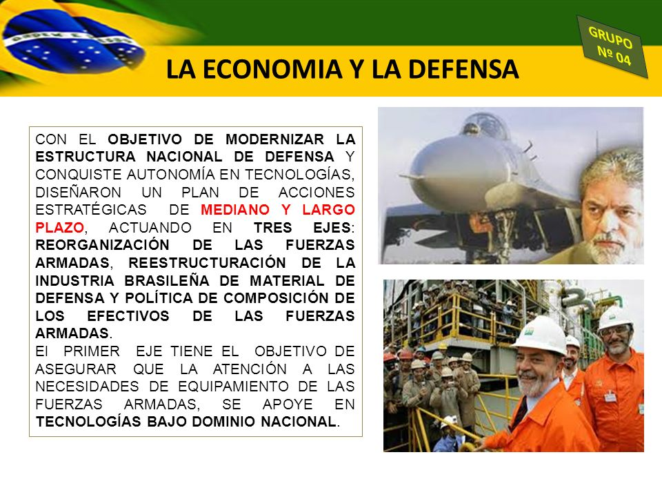 LA ECONOMIA Y LA DEFENSA