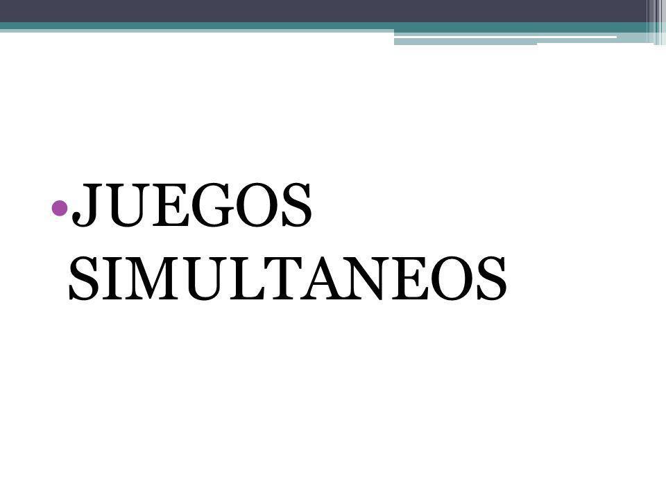JUEGOS SIMULTANEOS