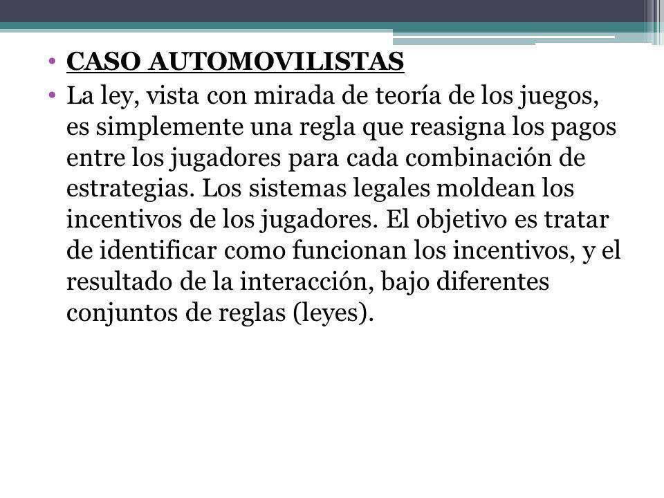 CASO AUTOMOVILISTAS