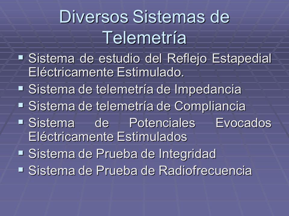 Diversos Sistemas de Telemetría