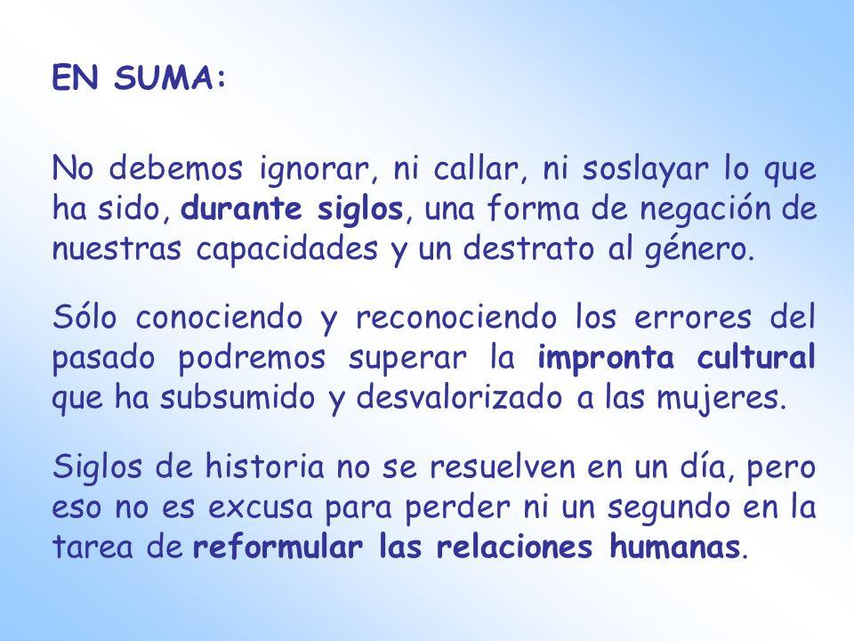 EN SUMA: