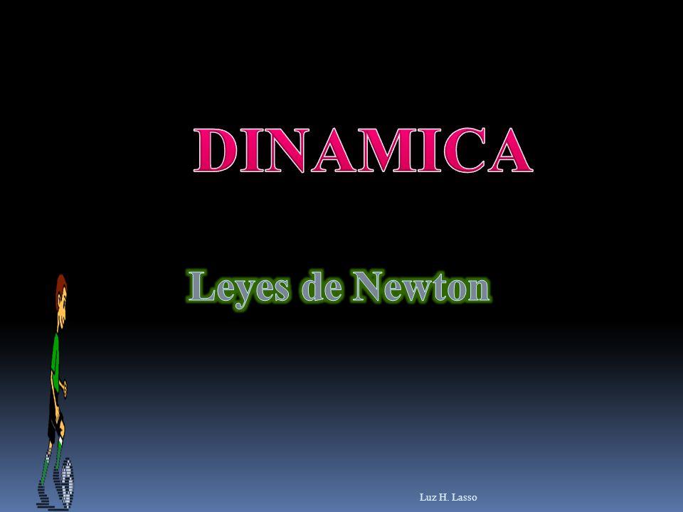DINAMICA Leyes de Newton Luz H. Lasso