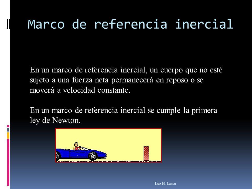 Marco de referencia inercial