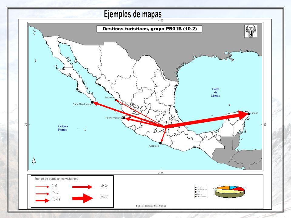 Ejemplos de mapas 1-6 19-24 7-12 25-30 13-18