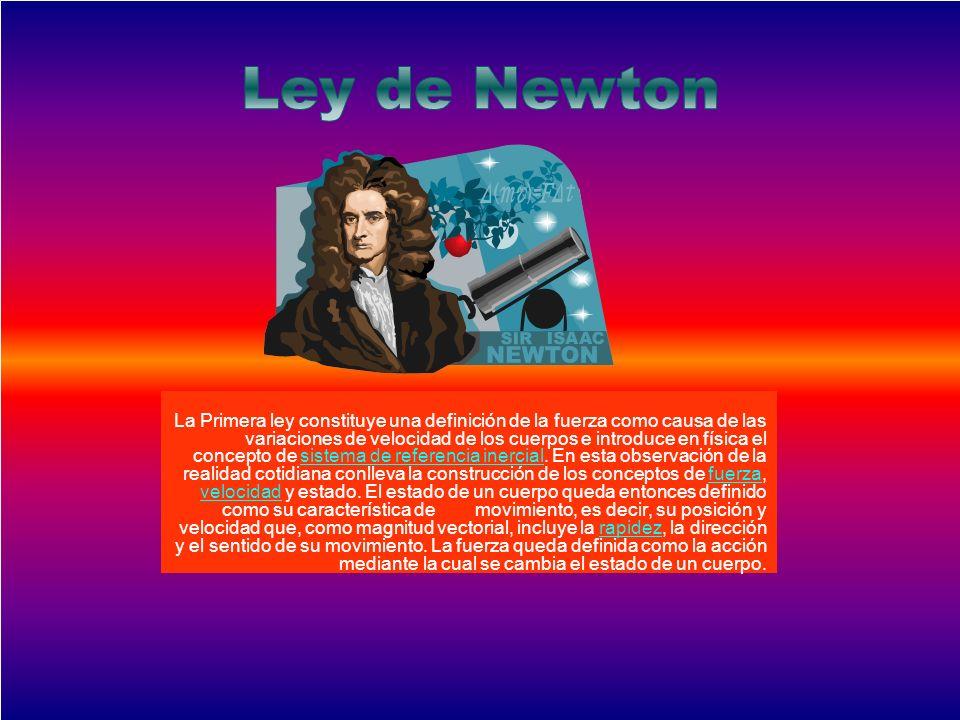 Ley de Newton