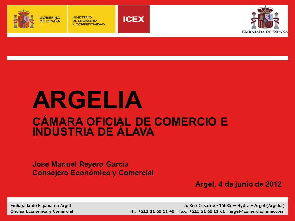 ARGELIA CÁMARA OFICIAL DE COMERCIO E INDUSTRIA DE ÁLAVA