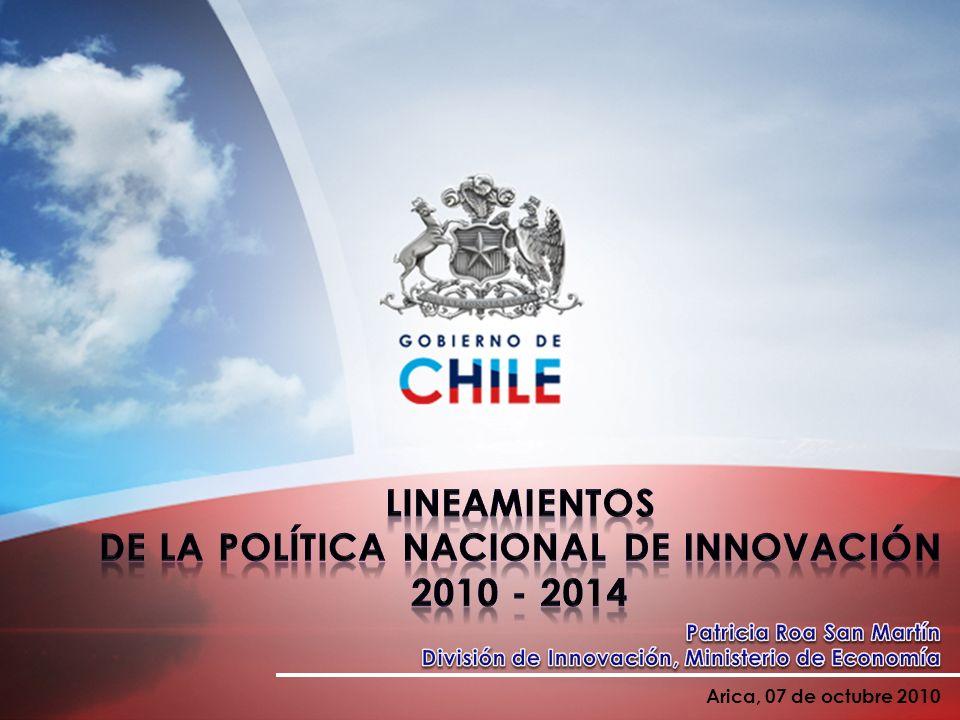 LINEAMIENTOS DE LA POLÍTICA NACIONAL DE INNOVACIÓN 2010 - 2014