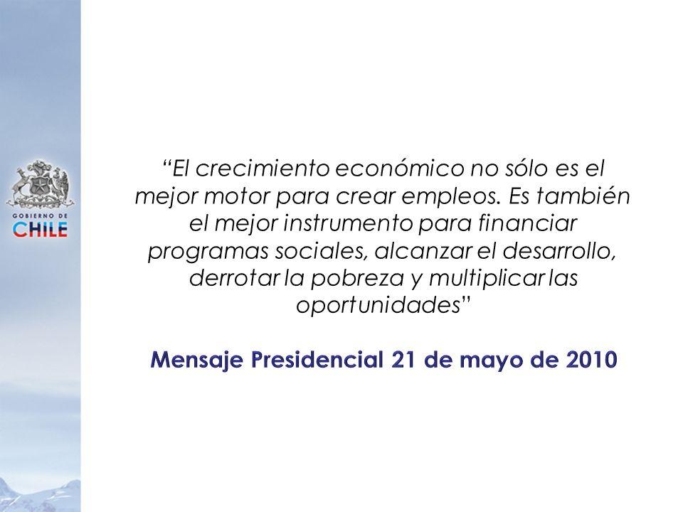 Mensaje Presidencial 21 de mayo de 2010