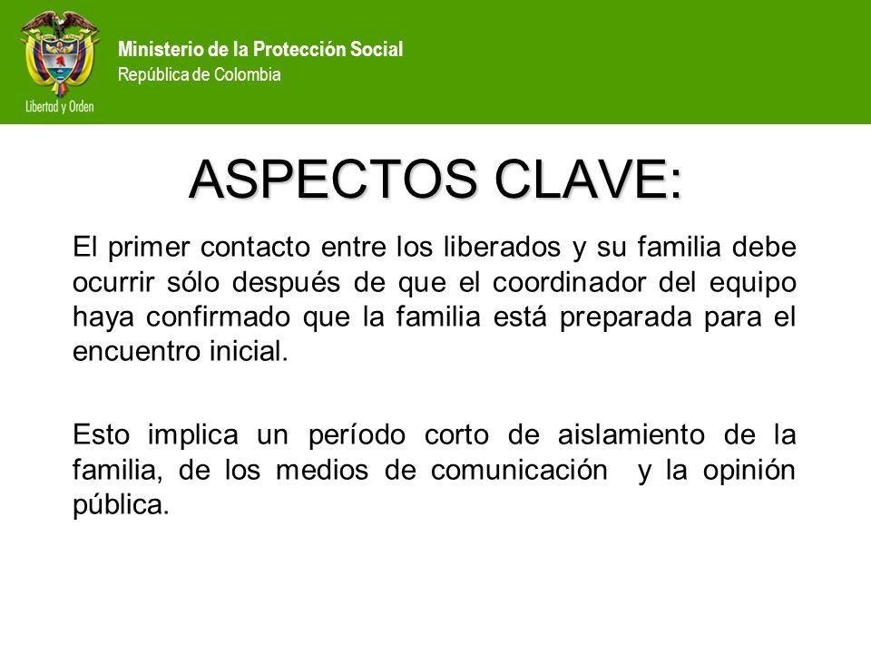 ASPECTOS CLAVE: