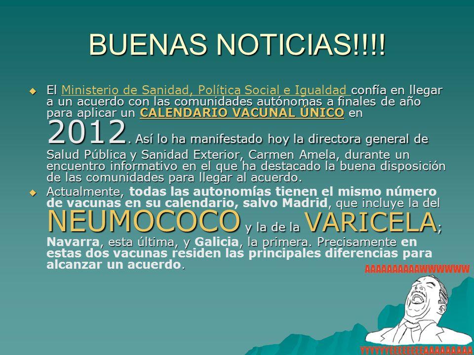 BUENAS NOTICIAS!!!!