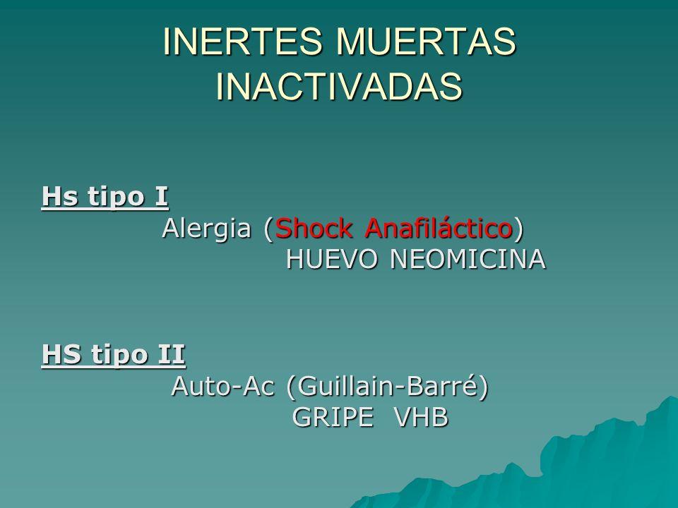 INERTES MUERTAS INACTIVADAS