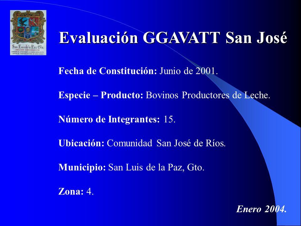 Evaluación GGAVATT San José
