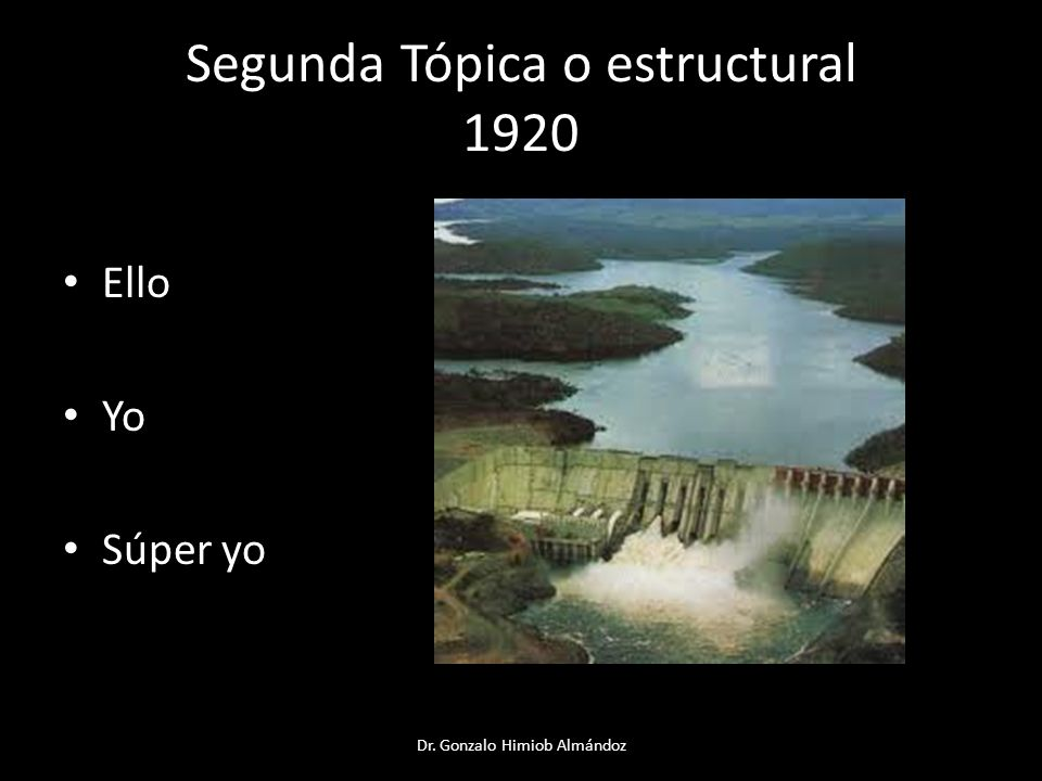 Segunda Tópica o estructural 1920