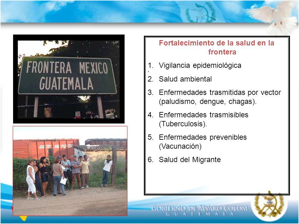 Fortalecimiento de la salud en la frontera