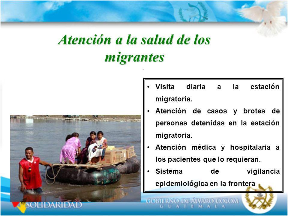 Atención a la salud de los migrantes