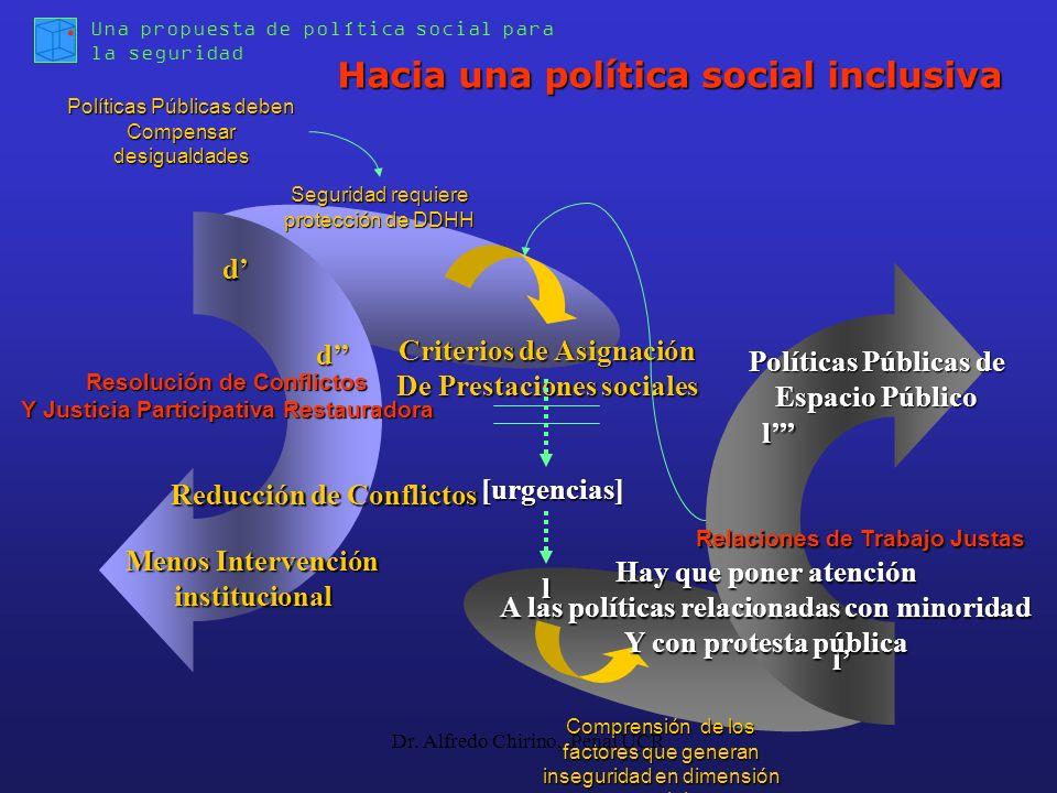 Hacia una política social inclusiva