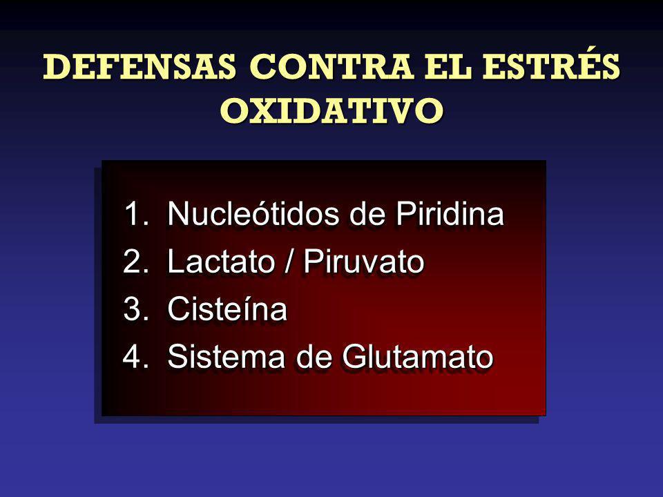 DEFENSAS CONTRA EL ESTRÉS OXIDATIVO