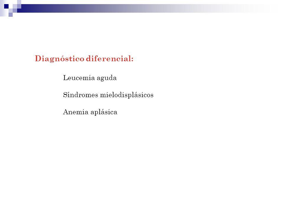 Diagnóstico diferencial: Leucemia aguda