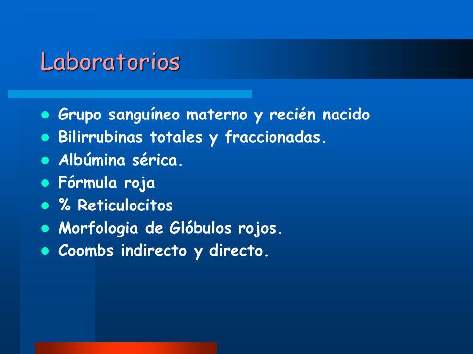Laboratorios Grupo sanguíneo materno y recién nacido