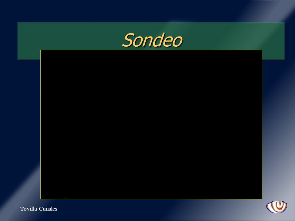 Sondeo Tovilla-Canales