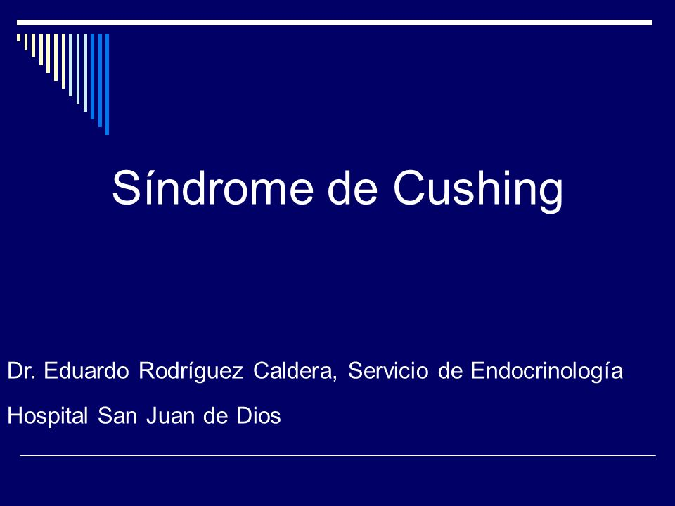 Síndrome de Cushing Dr.