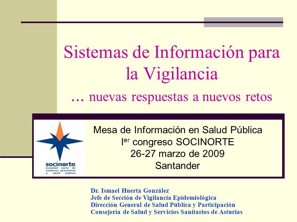 Sistemas de Información para la Vigilancia