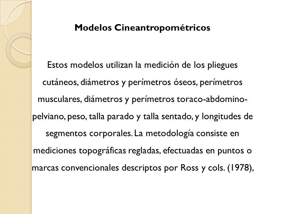 Modelos Cineantropométricos
