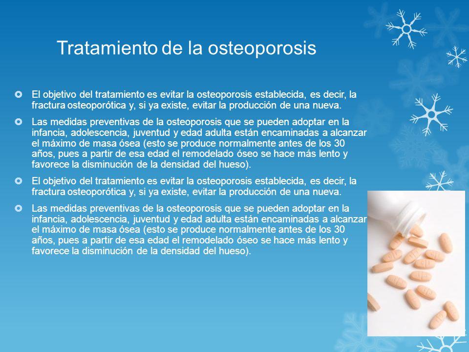 Tratamiento de la osteoporosis