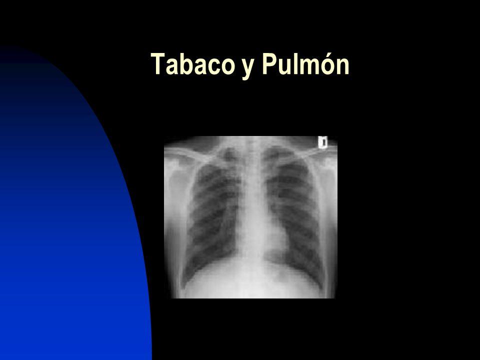 Tabaco y Pulmón