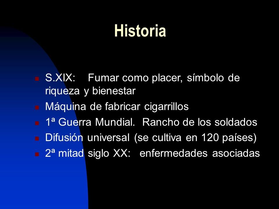 Historia S.XIX: Fumar como placer, símbolo de riqueza y bienestar