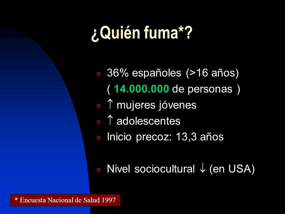 * Encuesta Nacional de Salud 1997