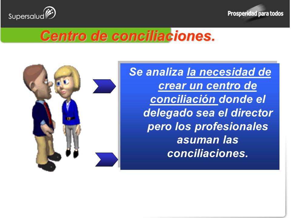 Centro de conciliaciones.
