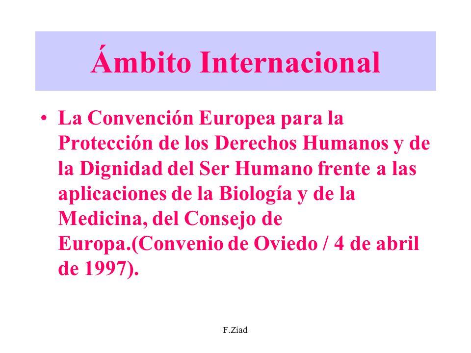 Ámbito Internacional