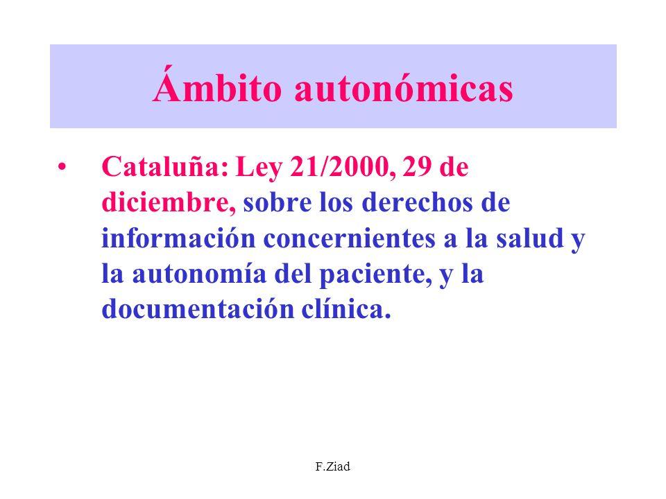 Ámbito autonómicas