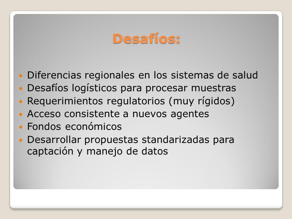 Desafíos: Diferencias regionales en los sistemas de salud