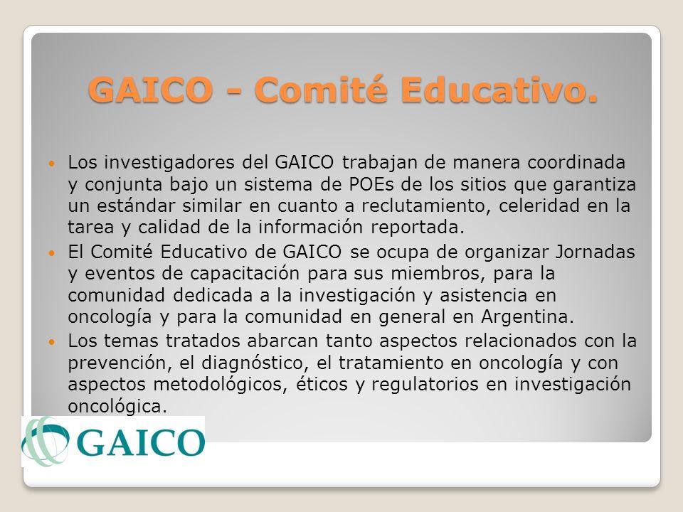 GAICO - Comité Educativo.