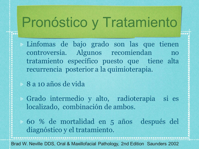 Pronóstico y Tratamiento