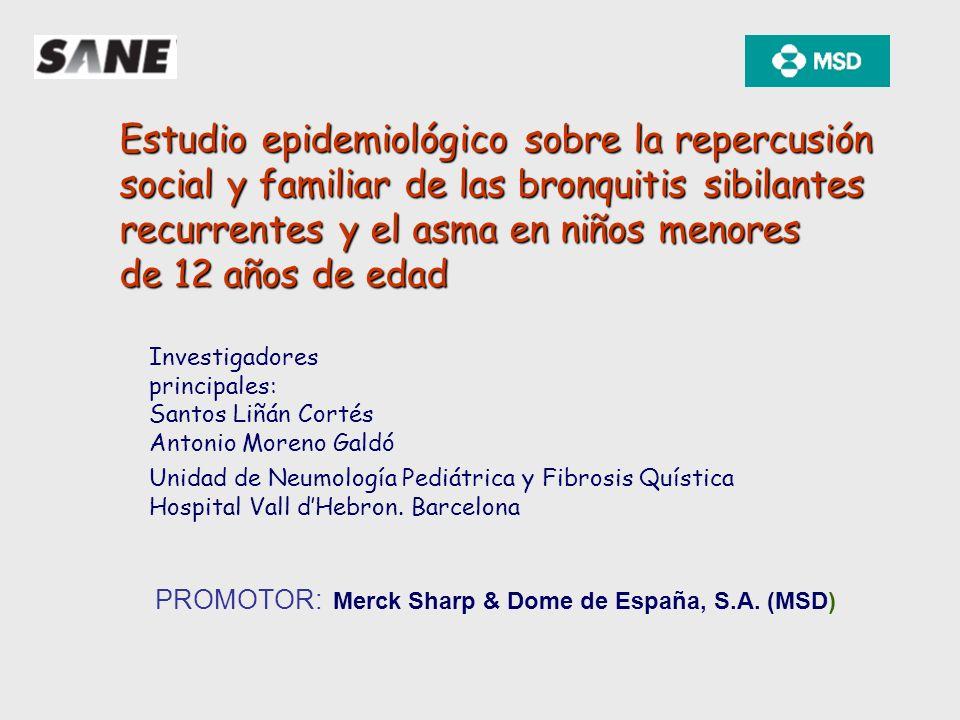 Estudio epidemiológico sobre la repercusión
