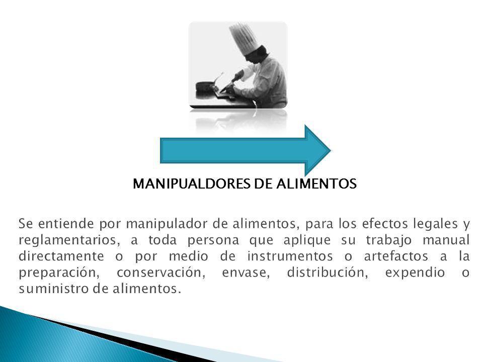 MANIPUALDORES DE ALIMENTOS