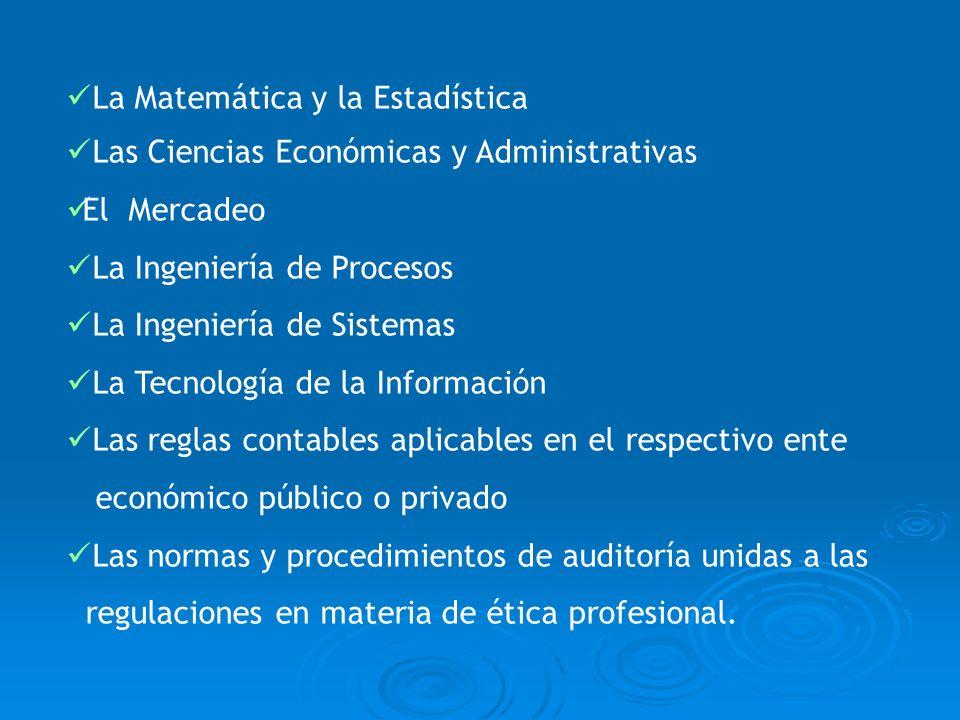 La Matemática y la Estadística