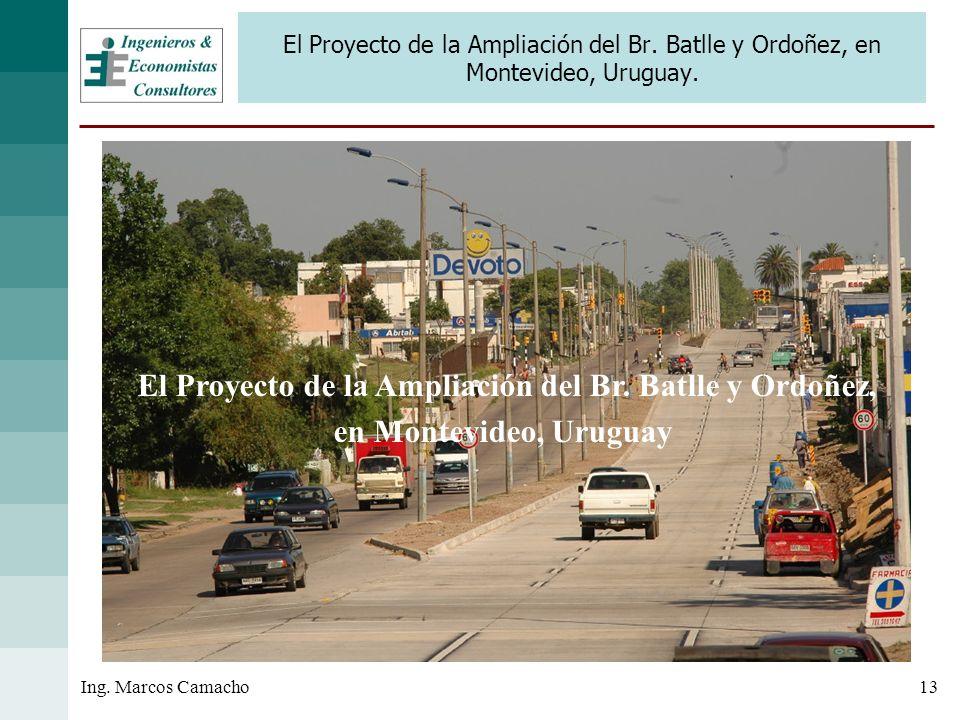 El Proyecto de la Ampliación del Br. Batlle y Ordoñez,
