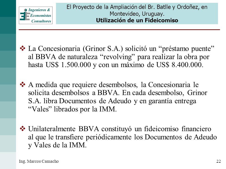 El Proyecto de la Ampliación del Br