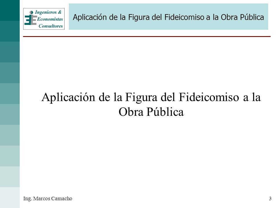 Aplicación de la Figura del Fideicomiso a la Obra Pública