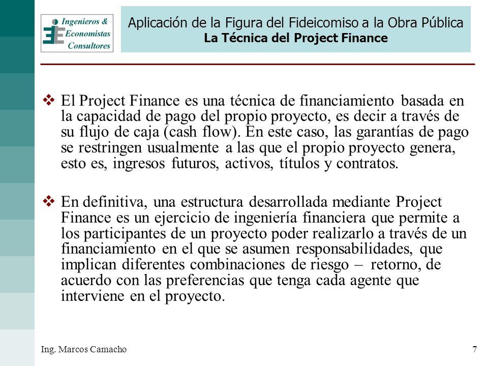 Aplicación de la Figura del Fideicomiso a la Obra Pública La Técnica del Project Finance