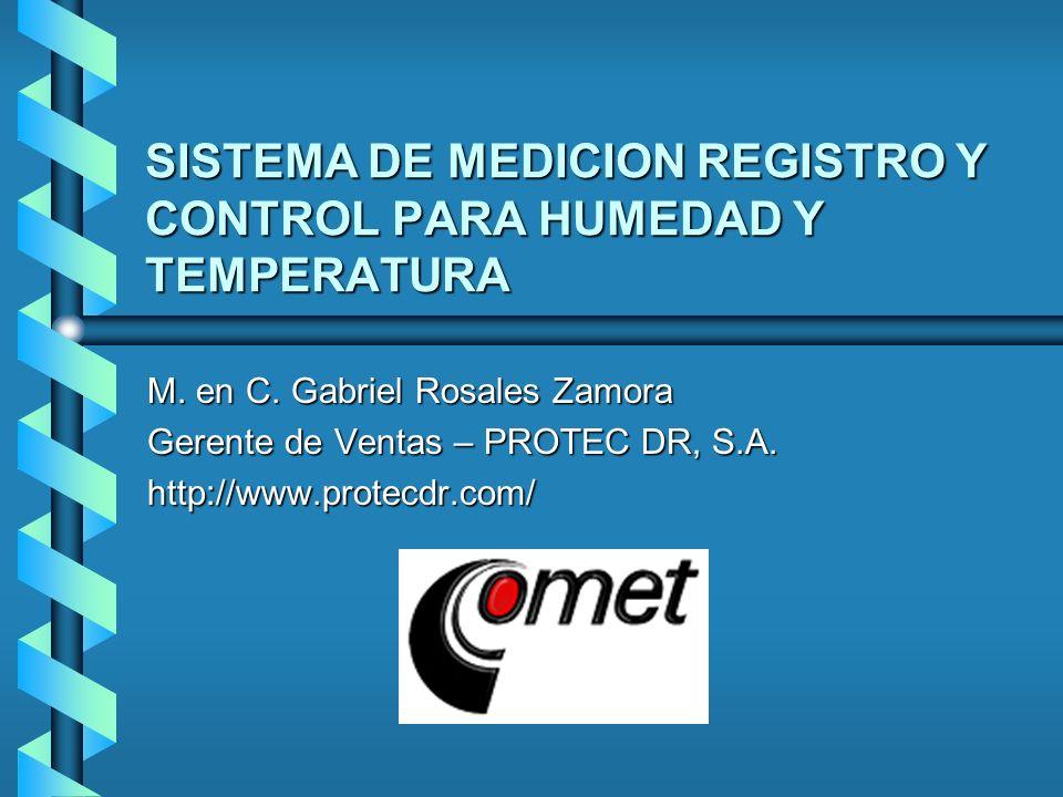 SISTEMA DE MEDICION REGISTRO Y CONTROL PARA HUMEDAD Y TEMPERATURA