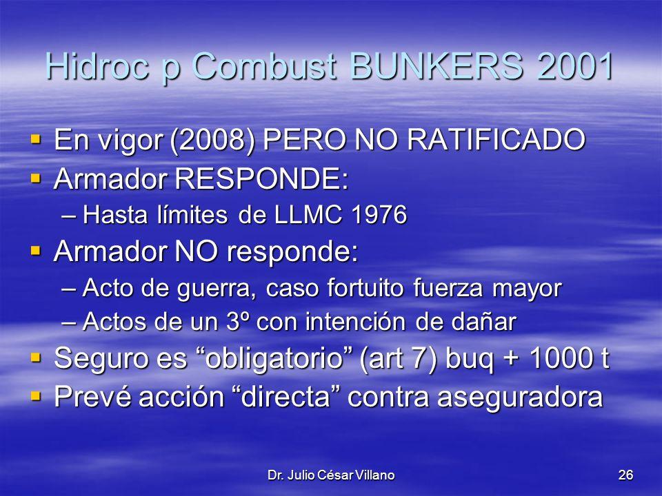 Hidroc p Combust BUNKERS 2001
