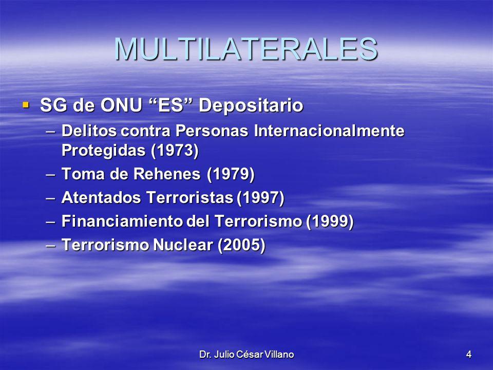 MULTILATERALES SG de ONU ES Depositario